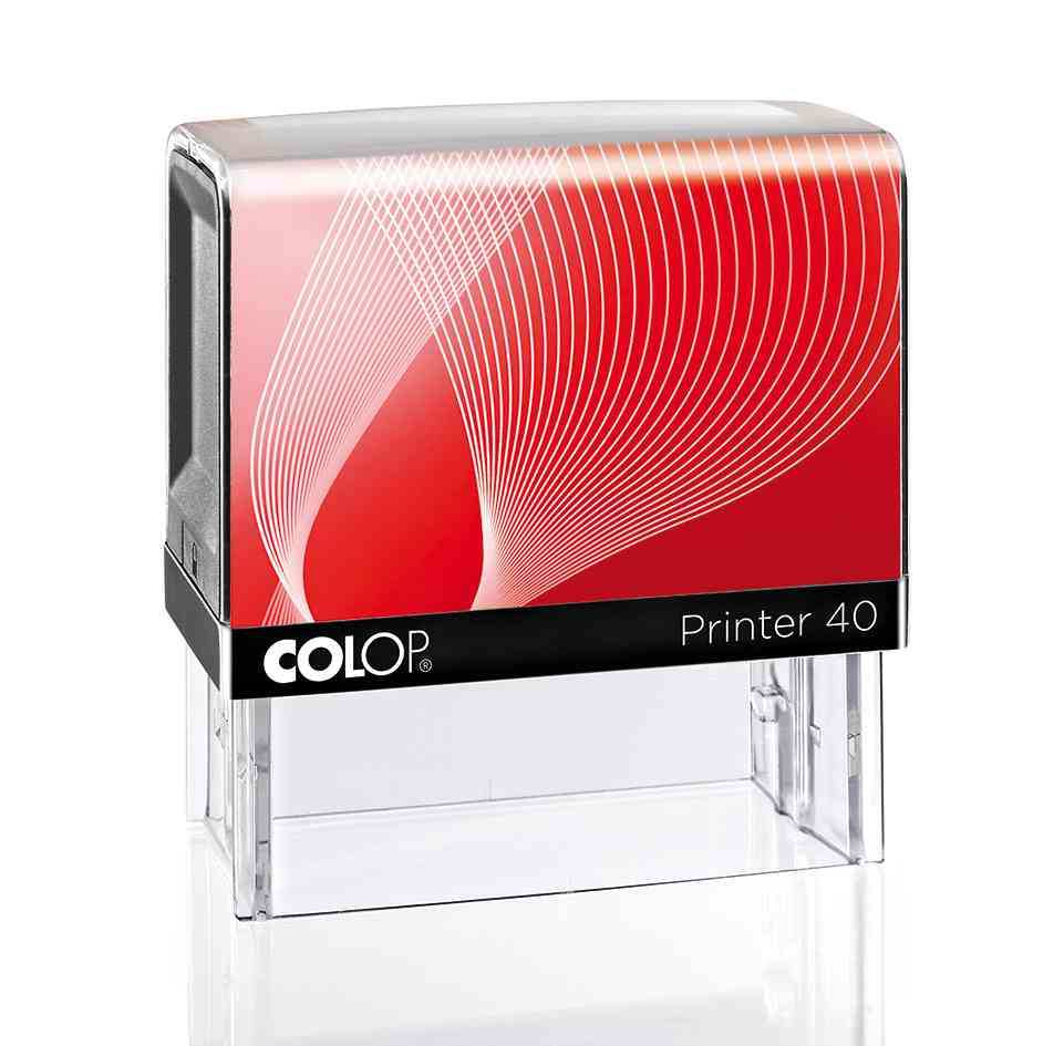 Colop G7 - P40  negru rosu
