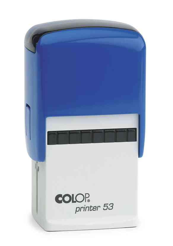 Colop P53 albastru